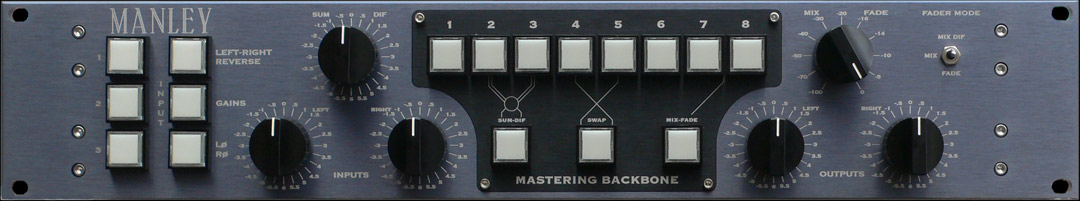 MANLEY BACKBONE Mastering Insert Switcher